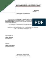 68115992 OJT Certificate