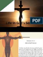Life in God's Service