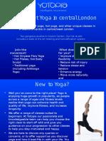 Yoga Central London