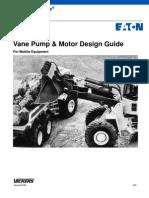 Vane Pump Motor