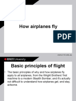 How Aeroplane Fly