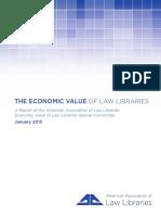 EconomicValue ofLawLibrariesFinalReport