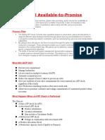 GATP General Info