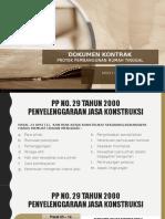 Presentasi Dokumen Kontrak