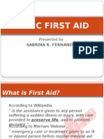 Edited Basic First Aid
