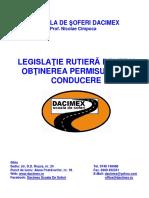 Curs de Legislatie Rutiera Aprilie 2016