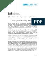 212. Improperly Accumulated Earnings BIR vs SEC JFD 9.15.11