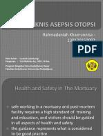 Teknik Asepsis Otopsi