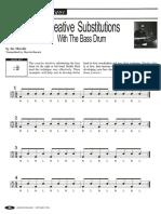 Joe Morello - Creative Substitutions