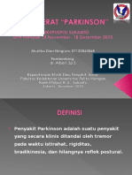 Referat Parkinson (Mustika Dian Ningrum-071.2006.0068)