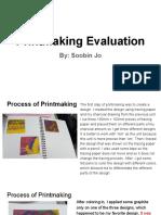 printmaking evaluation