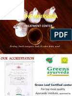 Kerala Ayurveda Treatments - Greens Ayurveda
