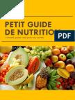 Petit Guide de Nutrition
