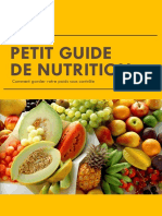 Petit Guide de Nutrition