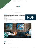 Nómadas Digitais_ Quem São e Porque Vêm Para Lisboa – Observador