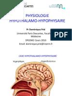 hypothalamo hypophyse