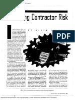 63.Managing Contractor Risk