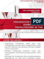 Prevention of Type 2 Diabetes With Troglitazone in DPP