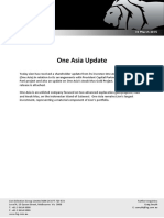 One Asia Update 20150310