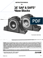 Dodge Saf Pillow Blocks