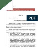 Auto Aval Bancario o Metálico Mario Conde Conde 23-17