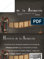 Historia de la Animación