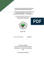 Laporan & Tugas Khusus RSAL Dr. Mintohardjo - Haslinda