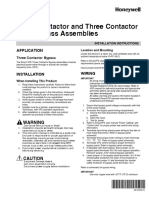 VFD by-pass Contactor