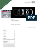 AUDI logo guidelines