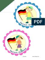 Deutsch Champion Medaille
