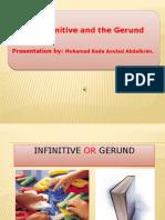 Infinitive vs Gerund
