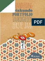 Handleiding 1 Portfolio Vaardigheden DEFINITIEF