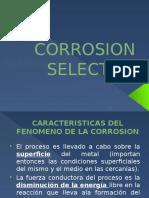 Diapositiva Corrosion Selectiva