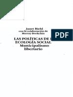 BIEHL Municipalismo Libertario