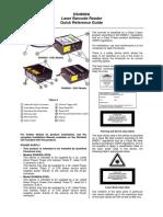 Datalogic Scanning Barcode Reader DS4600A