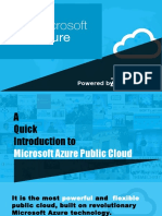 Getting Started with Microsoft Azure Public Cloud