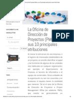 PMO 10 Principales Atribuciones _ Jesús Ruiz Nicolás