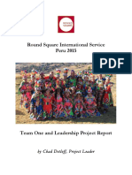 rsis peru 2015 project report