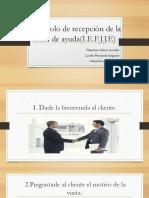 Protocolo de Recepcion de La Mesa de Ayuda Valentina
