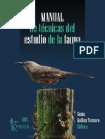 Manual de Tecnicas de Estudio de Fauna