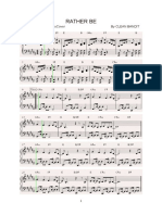 284521487 Rather Be Piano Sheet