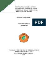 Perancangan Dan Pembuatan Antena Mikrostrip Model h