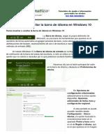 Windows 10 Hab Deshab Barra Idioma