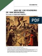 Aquilino Ribeiro - Regicidio