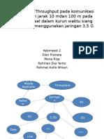 Pengukuran Throughput Pada Komunikasi Voip Dengan Jarak 10