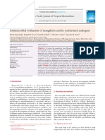 Antimicrobial Evaluation of Mangiferin and Its Synthesized Analogues