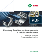 Planetary Gear Bearing Arrangements in Industrial Gear Boxes Technical Fag