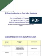 Control de Gestion- Presupuestos y Indicadores de Control y Desempeño