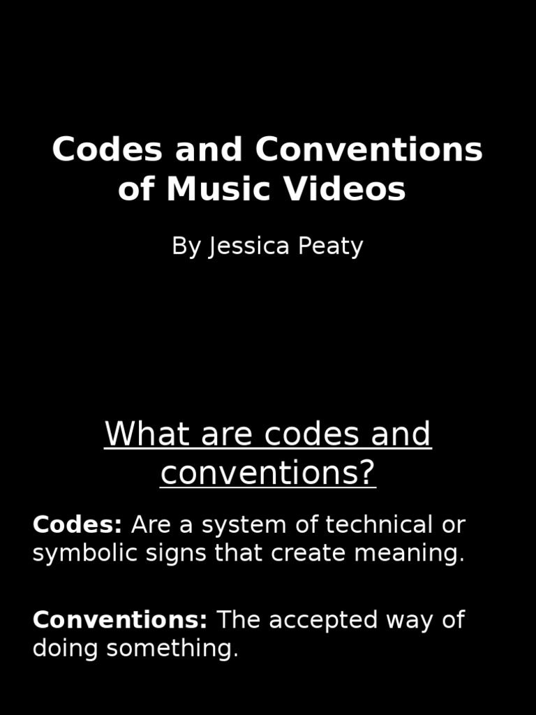 Codes and conventions of music videos narrative camera buycottarizona