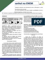 Ficha Aulão ENEM - Espanhol
